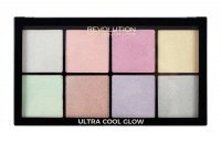 MAKEUP REVOLUTION - ULTRA COOL GLOW - HIGHLIGHTER PALETTE