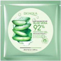 BIOAQUA - SOOTHING & MOISTURE ALOE VERA 92% Soothing Gel Sheet Mask