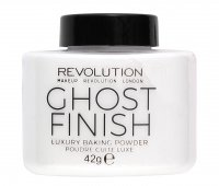 MAKEUP REVOLUTION - Luxury Baking Powder - Ghost Finish - Loose, white powder