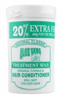 NATURAL CLASSIC - ALOE VERA TREATMENT WAX - HAIR CONDITIONER