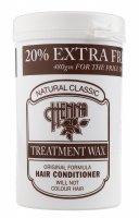 NATURAL CLASSIC - HENNA TREATMENT WAX - HAIR CONDITIONER