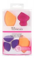 Real Techniques - 6 MIRACLE SPONGES - Set of 6 make-up sponges