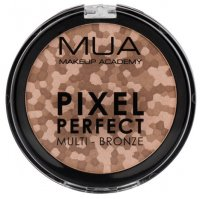 MUA - PIXEL PERFECT MULTI - BRONZE - Multi-colored bronzing powder