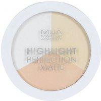 MUA - Highlight Perfection Matte - Natural Light - Set of 3 matte highlighters