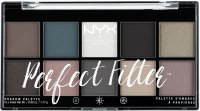 NYX Professional Makeup - Perfect Eye Shadow Palette Filter - Gloomy Days - 10 eyeshadows