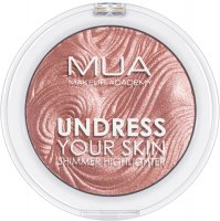 MUA - UNDRESS YOUR SKIN - Shimmer Highlighter - Rosewood Glimmer
