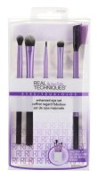 Real Techniques - ENHANCED EYE SET - Set of 5 brushes for eye makeup