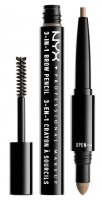 NYX Professional Makeup - SOURCILS 3IN1 BROW - 3in1 eyebrow makeup