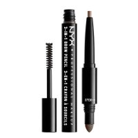 NYX Professional Makeup - SOURCILS 3IN1 BROW - 3in1 eyebrow makeup - 31BO8 - ASH BROWN