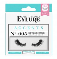 EYLURE - ACCENTS - NO. 005 - Eyelashes with glue - 60 01 817