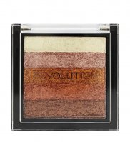 MAKEUP REVOLUTION - SHIMMER BRICK - Highlighter - ROSE GOLD - ROSE GOLD