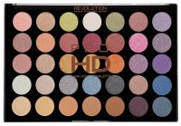 MAKEUP REVOLUTION - PRO HD AMPLIFIED 35 PALETTE - EXHILARATE - 35 eyeshadows