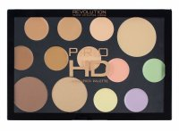 MAKEUP REVOLUTION - PRO HD THE FACE WORKS - LIGHT MEDIUM