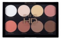 MAKEUP REVOLUTION - PRO HD AMPLIFIED PALETTE - MEGA MATTE - Palette of 8 powders