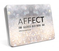 AFFECT - GLOSSY BOX MINI - Aluminum mini magnetic palette - Empty