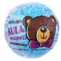 LaQ - Sparkling Bath Ball with a Surprise - Blue