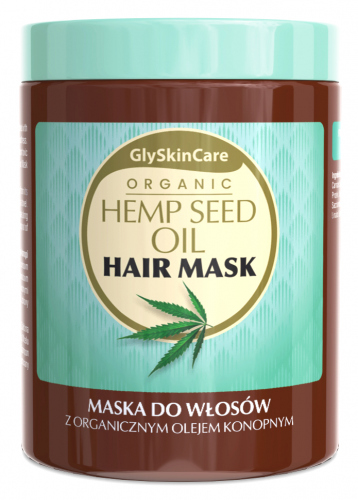 GlySkinCare - ORGANIC HEMP SEED OIL HAIR MASK