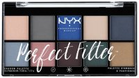 NYX Professional Makeup - Perfect Filter Eye Shadow Palette - Marine Layer