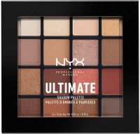 NYX Professional Makeup - ULTIMATE SHADOW PALETTE - WARM NEUTRALS