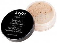 NYX Professional Makeup - MINERAL MATTE FINISHING POWDER