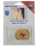 KRYOLAN - LATEX APPLIANCES FOR MAKE-UP ARTISTS - Gunshot wound - Art. 7212