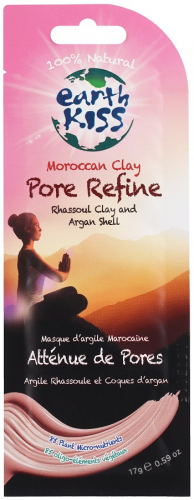 Earth Kiss - Moroccan Clay Pore Refine Rhassoul Clay and Argan Shell