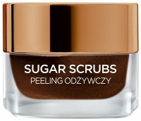 L'Oréal - SUGAR SCRUBS - Nourishing face and lip scrub