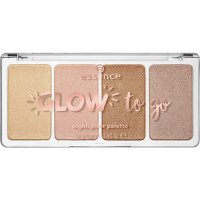 Essence - GLOW to go - Highlighter Palette - 10 - Sunkissed Glow