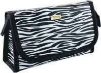 Inter-Vion - ZEBRA Cosmetic Case - Small with a mirror - 415616