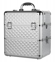 Cosmetic case - Silver Diamond 3D - NS038