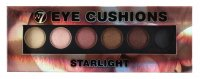 W7 - Eye Cushion - STARLIGHT - Palette of 6 eye shadows