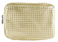 W7 - Large Cosmetic Bag - Crocodile Gold