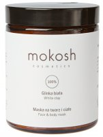 MOKOSH - WHITE CLAY - FACE & BODY MASK - 180 ml