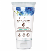 BARWA - Hypoallergenic Normalizing Gel Face Wash with Cornflower Extract