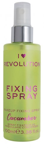 I LOVE MAKEUP - REVOLUTION - FIXING SPRAY - CUCUMBER