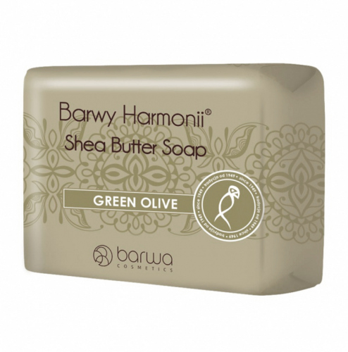 COLOR - Shea Butter Soap - GREEN OLIVE