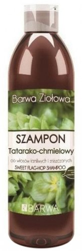 BARWA - BARWA ZIOŁOWA - Herbal shampoo for brittle and falling out hair - Hop Tartare -  250 ml