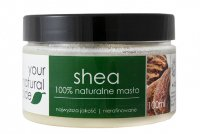 Your Natural Side - 100% Natural Shea Butter - Unrefined - 100 ml