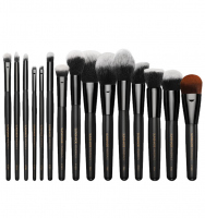 LancrOne - SUNSHADE MINERALS - Set of 15 make-up brushes - SM1518
