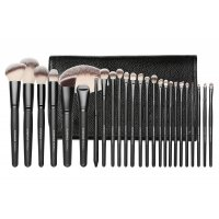 LancrOne - SUNSHADE MINERALS - Set of 25 makeup brushes - SM2516B
