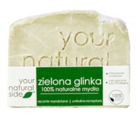 Your Natural Side - 100% Natural Soap with Green Clay - 100 g
