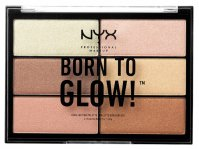 NYX Professional Makeup - BORN IS GLOW! - HIGHLIGHTING PALETTE