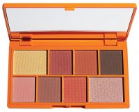 I HEART REVOLUTION - MINI EYESHADOW PALETTE - CHOC ORANGE