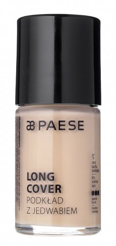 PAESE - LONG COVER - Light foundation with long-lasting silk