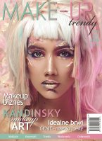 Magazine Make-Up Trendy - IDEAL BRWI - No3 / 2018 - Pink version