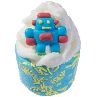 Bomb Cosmetics - Do the Robot - Creamy bath cupcake
