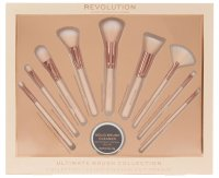 MAKEUP REVOLUTION - ULTIMATE BRUSH COLLECTION - Set of 9 brushes + soap