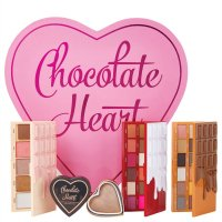 MAKEUP REVOLUTION - CHOCOLATE HEART - Eye and Face makeup Gift Set