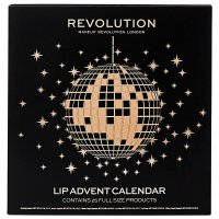 MAKEUP REVOLUTION - LIP ADVENT CALENDAR - Advent calendar with lips makeup products
