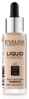EVELINE - Liquid Control HD Mattifying Drop Foundation